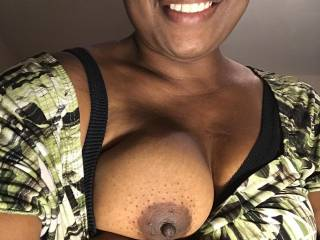 Showing off my tits again