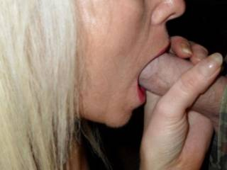 getting my mouth around his dick