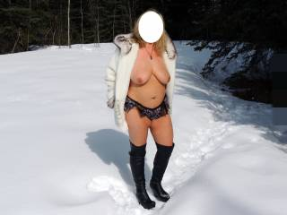 Some chilly pics in the snow.
