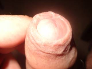 My uncut dick, do you like?