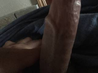 She has has been riding this young cock lately.  He pleases her her greatly