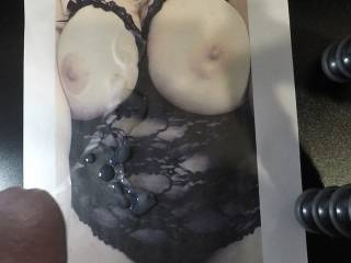 cum on tits/body tribute for Daddylittleslut