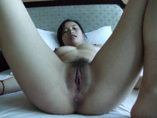 I`d love to lick your delicious looking pussy until until it squirts all over my face then I`ll fuck it until I squirt all over you