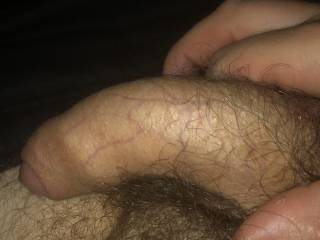Quick wank while wife in the shower...