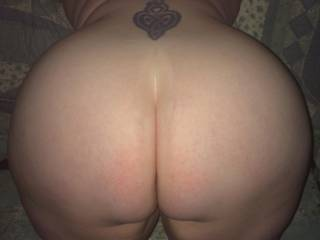 Wife bent off I am about to fuck her hard