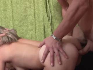 His wife's pussy....is always a good start. Does he have her sucking her husbands cock while he is fucking her. G
