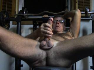 more cock with glasses