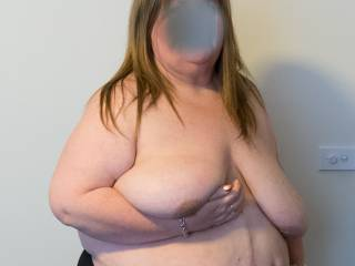 Big saggy tits!
