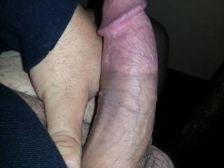 quick shot of my cock. Vote and comment please