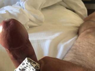 cumming while using the wife's dirty panties.  nothing hotter.