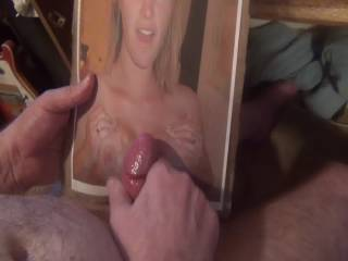 A cumshot on the tittys of Norcal couple,she has a VERY nice pair,PM for your tribute too