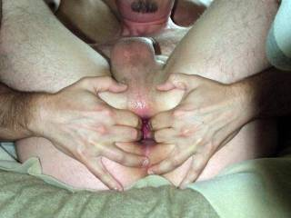 "Getting ready for my BF's 10"" cock!"