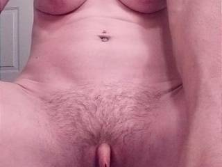 My horny pussy and swollen clit waiting for your cock I'm ready to fuck you