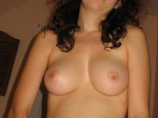 you need to post a picture with your hot hard nipples covered in a couple good loads of cum, very nice tits