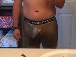 Me and my golden bulge do you like ?