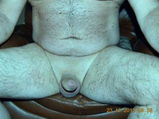 Hubby waiting for his bj