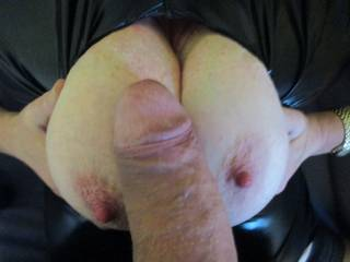 Tits and cock