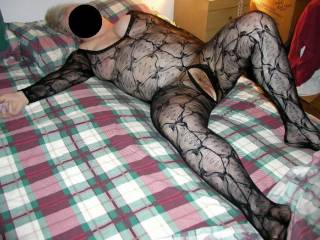 Mrs warm spread and waiting. She loves fucking in her lacy body suit!