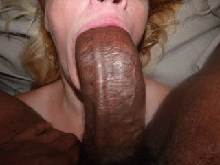 GAGGING HIS WIFE ON MY BBC