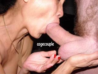 Sweetie I'd love to see you with my cock in your mouth like that.  Mmmm I know I'd love how you would look with a mouth full of my cock.  I'd be shooting cum in your hot mouth no time at all.  G