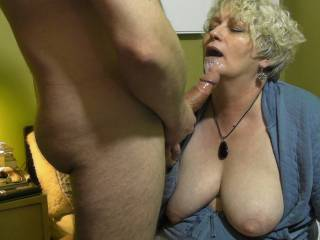 I would like to join you and have you suck my cock and I would love to suck on those big beautiful tits to.