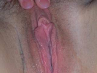 It is absolutely gorgeous Honey and I bet very delicious.  My tongue is aching to get in and over it and savor the tasste of you.  I looks hot and wet which is perfect, just as I love eating pussy to be.  I am wishing and hoping yopu will invite me to feast between you marvelous thighs.