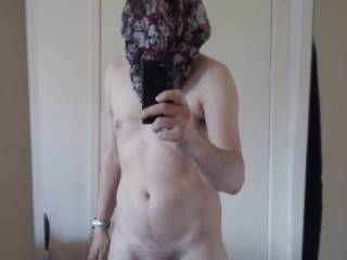Seeing as I am married I need to hide my face. My wife told me that some women have intruder fantasies so  thought I would give that a go. Sexy Intruder.