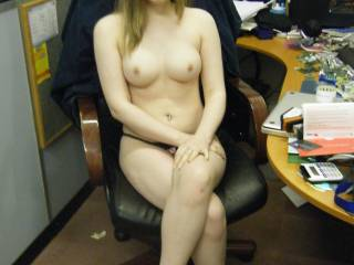 Me at my BF's business i paid him a visit who else wants a visit?
