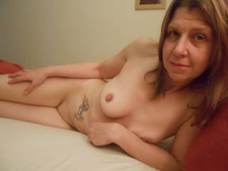 Getting horny on the bed