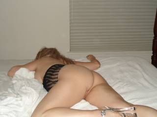 Resting after being fucked hard, please come fuck me more...I need cock in all my holes!!!