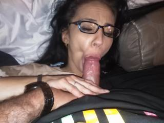 I just love his cocktail in my mouth .. I can cum with just feeling it in my mouth.