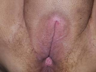 Freshly fucked pussy! Who wants next?