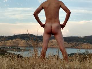 Having a little nude fun out on the bike trail.  Who wants to join me?