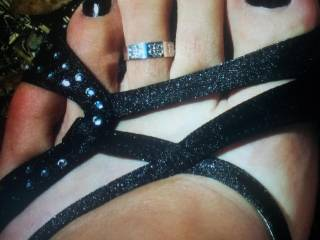 older pic with black nails.
