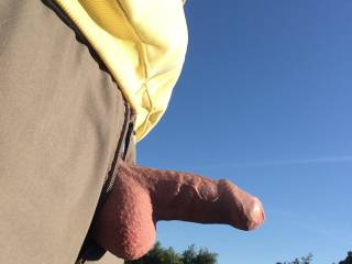 Out walking the dog and felt horny - just needed some company...