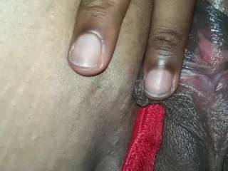 Showing my wife pussy off