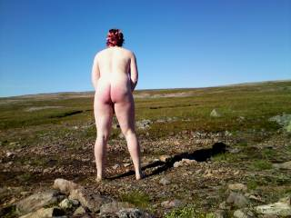 I love being in the outdoors and expose my body