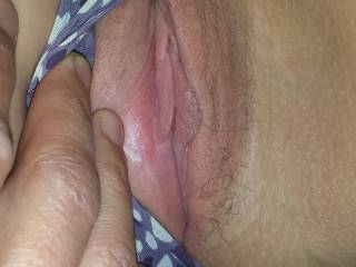 Kenny wants to share my pussy - who wants to have a go?