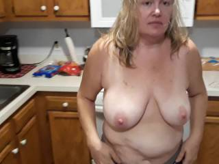 Bouncing these big floppy tits there getting saggy but still flop around good