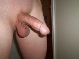 freshly shaven. ready for some warm pussy!