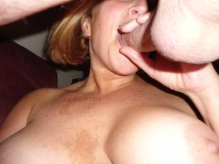 Combined hand and mouth action. Impossible not to cum right?