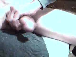 Beautiful cum shot from that lovely circumcised cock, oh how I love those naked cock heads, would love to see more videos of that lovely bellend