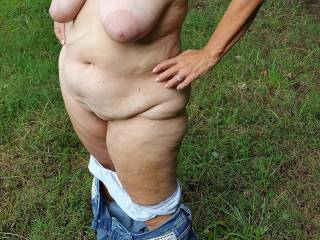 getting nude outside again