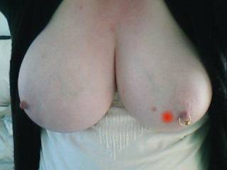 My ex and her big titties lol